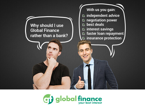 The benefits of using Global Finance Mortgage and Insurance Advisers