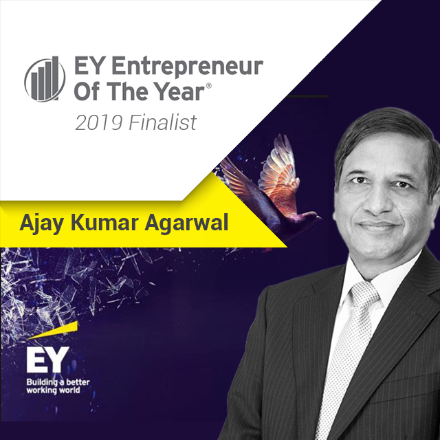 EY Judges Ajay Kumar in Entrepreneur Awards