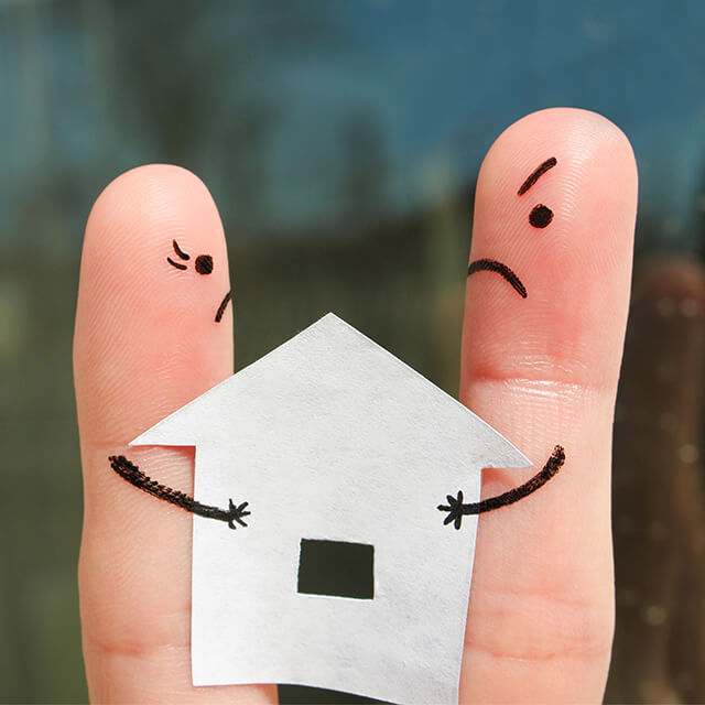mortgage after separation
