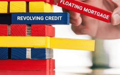 Revolving credit vs floating mortgage